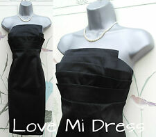Principles - 50s Style Satin Corset Pencil Wiggle Dress 14 EU42
