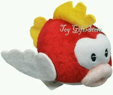 SUPER MARIO BROS. PESCE SMACK PELUCHE 13Cm.  Plush Cheep Cheep Princess Pupazzo