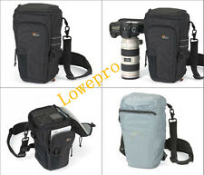 Lowepro Toploader Pro 75 AW DSLR Camera Holster Shoulder Bag Case & Rain Cover
