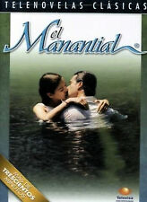 EL MANANTIAL * Novela * New Sealed DOUBLE-SIDED DVD  * Spanish Telenovela 2001