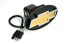 REESE TOWPOWER CHEVY  LOGO LIGHTED HITCH COVER #  86062