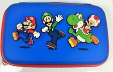 Power-A CPFA106225 Super Mario Universal Travel Zip Case for Nintendo 3DS - Blue