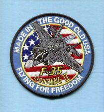 LOCKHEED MARTIN F-35 LIGHTNING 2 US NAVY USAF USMC Fighter Squadron Patch