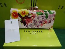 NEW WITH BOX & TAGS TED BAKER NUDE PINK ALSORI LOST GARDENS  MATINEE PURSE