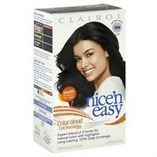 Clairol Nice 'n Easy Hair Color 124, Natural Blue Black