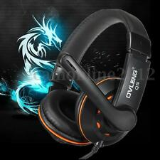 OVLENG Q5USB Surround Stereo Gaming Headset Headband Headphone with Mic for PC