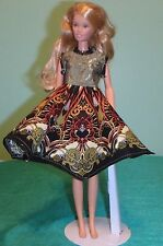 Olive & Black Medallion Print Dress Teen Skipper Barbie & HS Musical Doll TSMS20