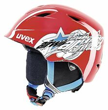 Uvex Airwing 2 Children's Ski Helmet Red Size:46-50
