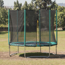 15FT trampoline Combo Bounce Jump + Safety Enclosure Net with Spring Pad Kit
