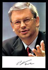 Roland Koch Autogrammkarte Original Signiert Politik +G 16115