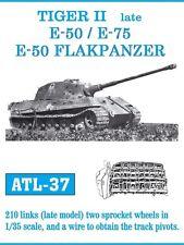 FRIULMODEL METAL TRACKS TIGER II LATE/E-50/E-75/E 50 FLAK Scala 1/35 Cod.ATL-37