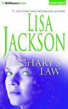 Zachary's Law by Lisa Jackson (2016, CD, Unabridged)