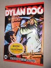 Bonelli Dylan dog Attraverso lo Specchio 10 Quaderno Cartonato con calcolatrice