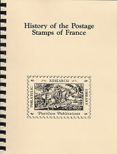 History of the Postage Stamps of France, by Arthur Maury, New