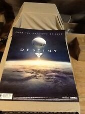 Destiny Poster 2 ft. 3 in. Wide x  3 ft. 4 in. Height New PS4 XBOX ONE