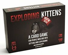Exploding Grown-Up Toys Kittens: NSFW Edition (Explicit Content)