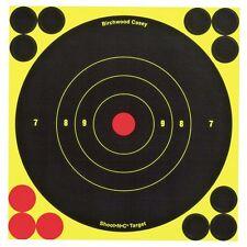 60 Pack 6' Reactive Splatter Glow Gun Rifle Shooting Range Targets Stickers Shot