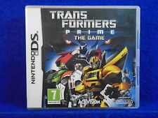 ds TRANSFORMERS PRIME The Game Lite DSi 3DS Nintendo PAL