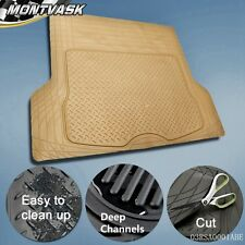 Trunk Cargo Floor Mats For SUV Van All Weather Rubber Truck Auto Liners BE