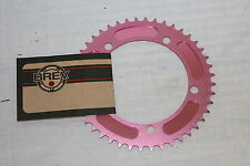 NEW Brev. M Masi Fixie Fixed Gear ChainRing Sprocket Chain ring 44t Pink 130 BCD