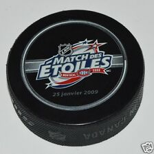 2009 All-Star Game Montreal Canadiens OFFICIAL PUCK French Match des Etoiles