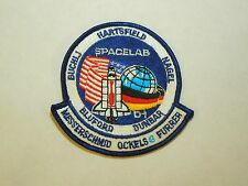 NASA Spacelab Mission D1 STS-61 A Challenger Astronaut Embroidered Iron On Patch
