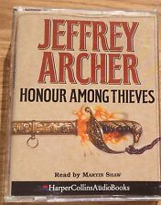 AUDIO BOOK: Jeffrey Archer -HONOUR AMONG THIEVES on 2 x cass read by Martin Shaw