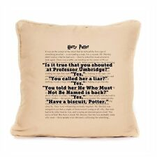 Harry Potter Cotton Cushion Funny Quote Dumbledore Luxury Home Decor Gift Idea