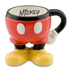 Disney Parks Best of Mickey Mouse Pants Coffee Mug / Cup NEW! FREE SHIPPING!