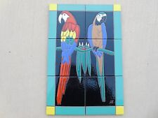 Catalina Tile Parrot The Macaws Taylor Malibu San Jose