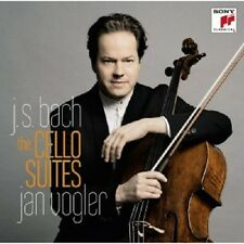 JAN VOGLER - JOHANN SEBASTIAN BACH-CELLOSUITEN 1-6  (2 CD)  36 TRACKS NEU