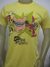 Nwt Men's Med Aaahh Real Monsters Nickelodeon Oblina Ickis Krumm Cartoon T Shirt