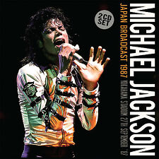 MICHAEL JACKSON New 2016 UNRELEASED 1989 BAD TOUR JAPAN LIVE CONCERT 2 CD SET