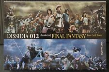 JAPAN Dissidia 012 Final Fantasy Postcard Book