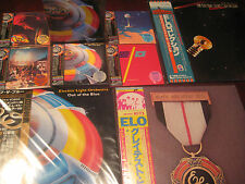 ELECTRIC LIGHT ORCHESTRA OUT OF THE BLUE OBI JAPAN 5 CD SET + JAPAN OBI LP BONUS