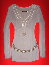 3SUISSES COLLECTION LONGSLEEVE SHIRT TUNIKA ROMANTIK BoHo 38/40 M NEU !!! TOP !!