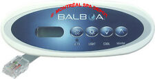 Spa hot tub Balboa WG® VL240 MVP240 Mini oval panel topside keypad part# 55080