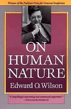 On Human Nature by Edward O. Wilson (1978, Paperback, Reprint)