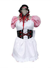 The Melancholy of Suzumiya Haruhi Cosplay Costume Mikuru Asahina Maiden Any Size