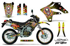 KAWASAKI KLX 250 Graphic Kit AMR Racing # Plates Decal Sticker Part 04-07 EDPY