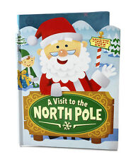 "Hallmark  ""A VISIT TO THE NORTH POLE""  Interactive Story Book  *NEW*"