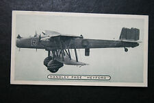 Handley Page  Heyford  MK1  RAF Bomber    Vintage Photo Card # VGC