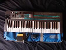 Vintage KORG POLY 800 Synth w/Original Korg Bag, Footswitch, Universal Adapter
