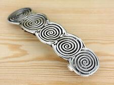 Irisch - Haarspange - Zinn -  keltische Spiral