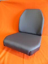1 Sitzbezug, 1 Lehnenbezug für UNIMOG 406, 421, 403, 416 Stoff grau, Sitz