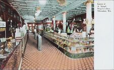 Drugstore: Interior, Spiegel Drug Store: Milwaukee, WI. Pre-1910.