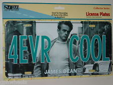 JAMES DEAN 4 EVER COOL Metal LICENSE PLATE -NEW IN PACKAGE