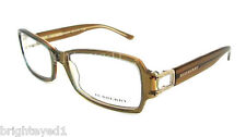 Authentic BURBERRY Brown Rx Eyeglass Frame BE 2044 - 3027 *NEW* 53mm