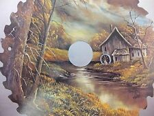 Old Mill Stream Landscape Painting Pattern Packet by Dorothy Dent
