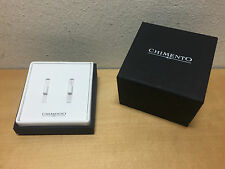New - CHIMENTO - Cufflinks Gemelos CASE BOX CAJA ESTUCHE